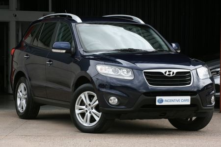 HYUNDAI SANTA FE 2.2CRDi 194 Premium 4WD 5 SEAT MANUAL. ONLY 2 OWNERS. FULL SERVICE HISTORY. HEATED LEATHER. 10 REG